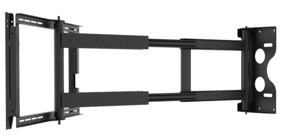 Flat Panel Wall Mount with Rotation, Linear move & Tilt FPWMRT V1.4-500 LINEAR